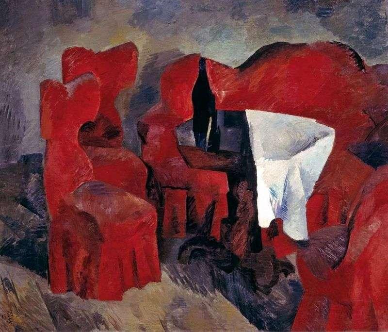 Czerwone meble   Robert Falk