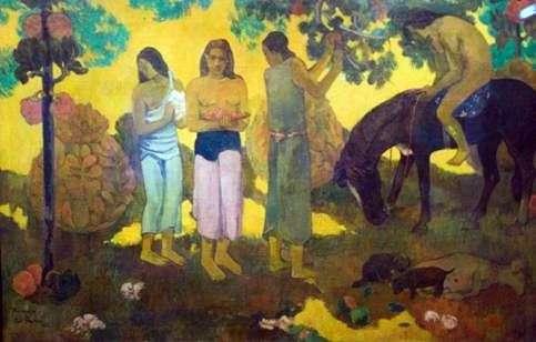 Zbiór owoców   Paul Gauguin