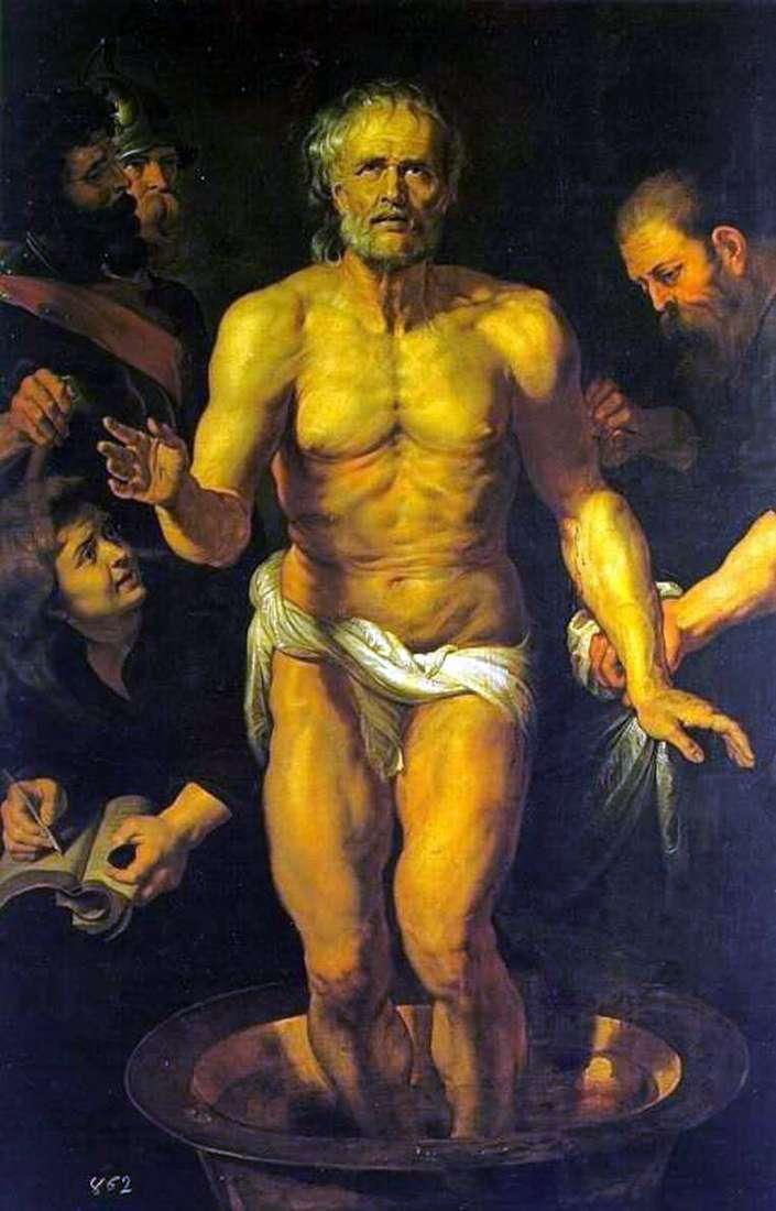 Śmierć Seneki   Peter Rubens