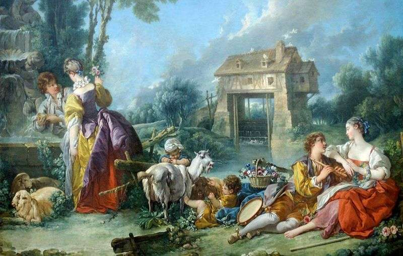Love Fountain   Francois Boucher