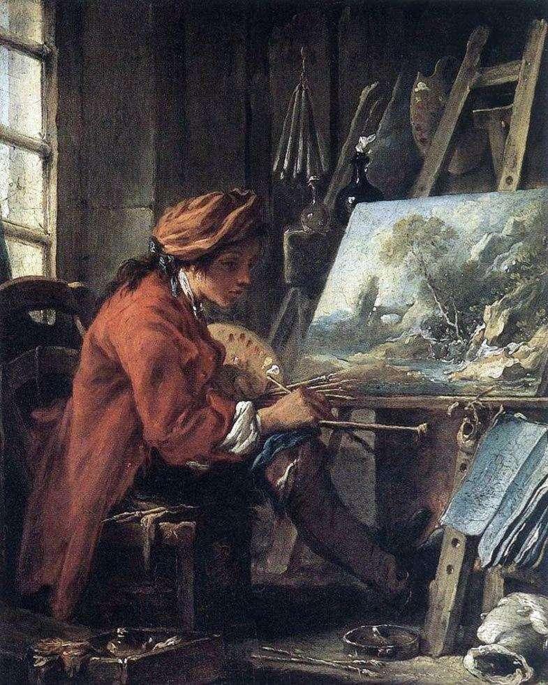 Artysta w swojej pracowni   Francois Boucher