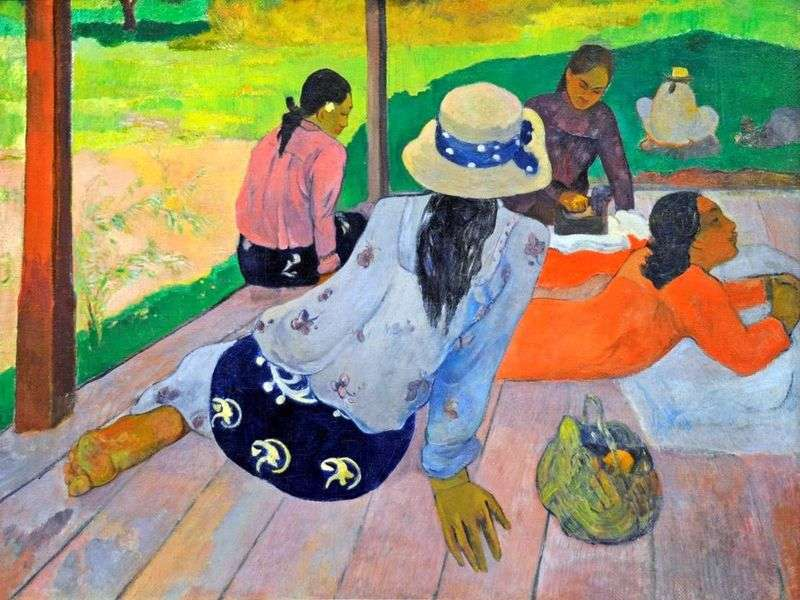 Siesta   Paul Gauguin