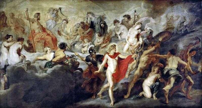 Rada bogów   Peter Rubens