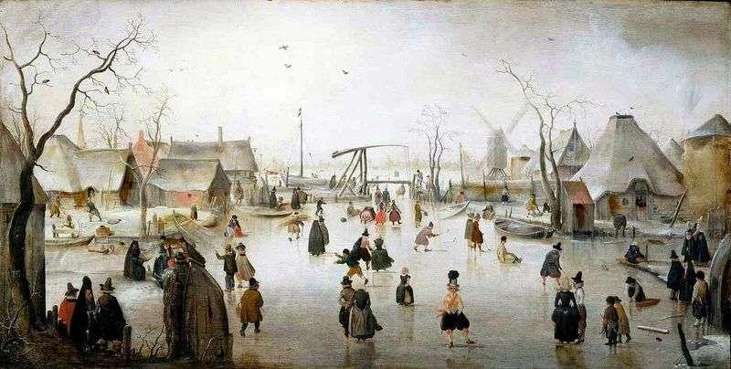Ice Town   Hendrik Averkamp
