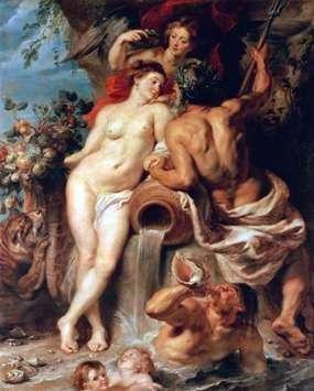 Unia Ziemi i Wody   Peter Rubens