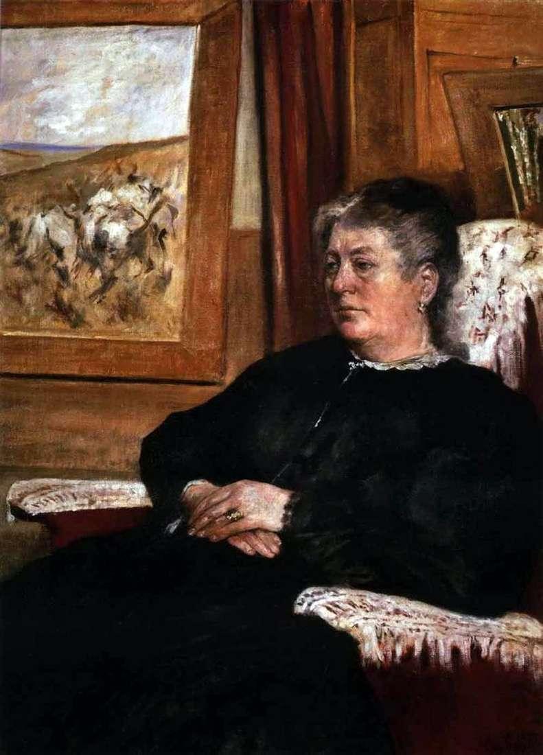 Portret żony   Giovanni Fattori
