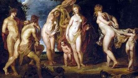 Sąd w Paryżu   Peter Rubens