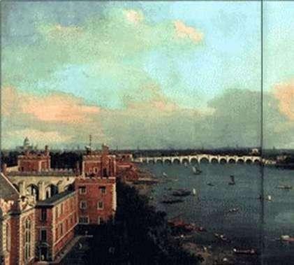 Widok na Londyn   Antonio Canaletto