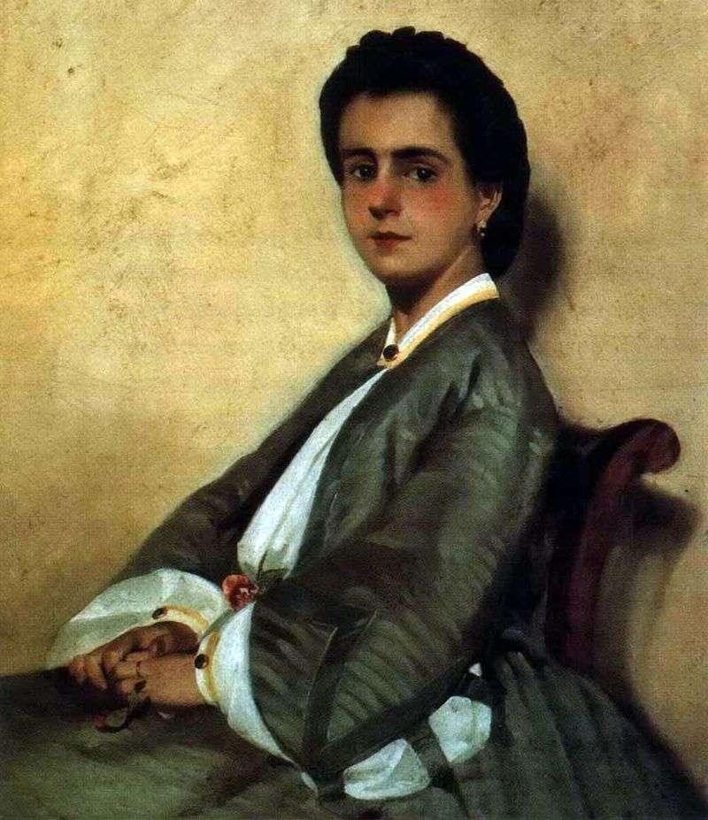 Portret kuzyna Argia   Giovanni Fattori