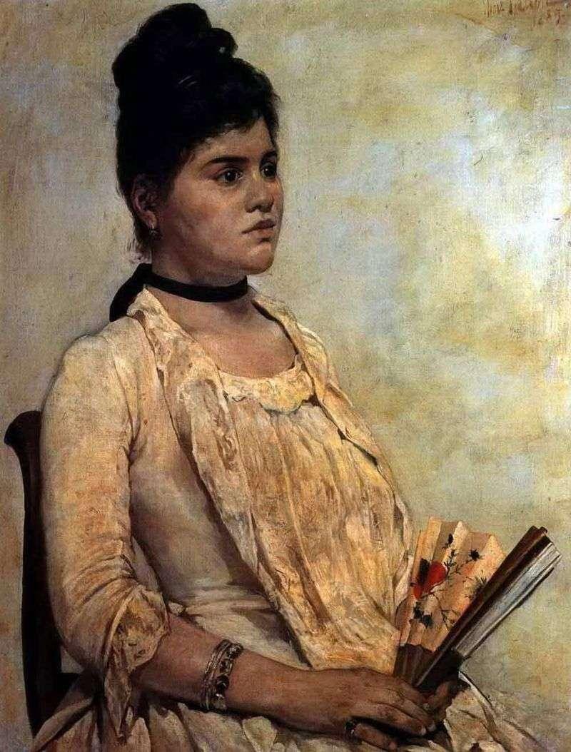 Portret pasierbicy   Giovanni Fattori