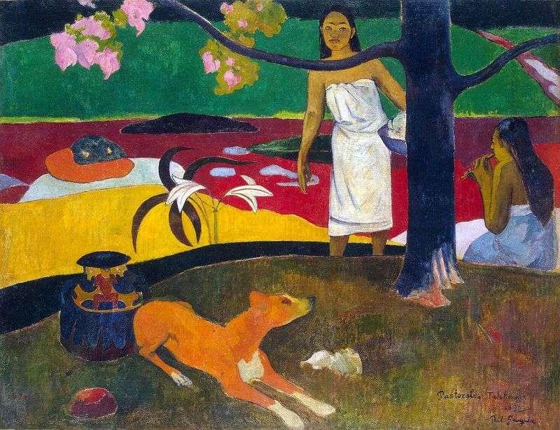 Tahitańskie pastorałki   Paul Gauguin