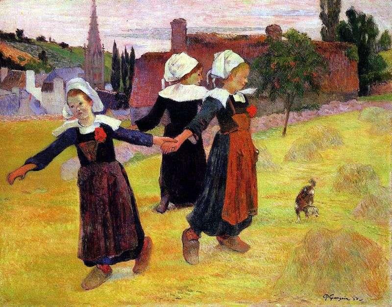 Tańczące dziewczyny   Paul Gauguin