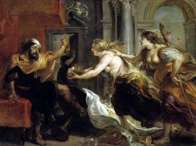 Terey, Procne i Philomela   Peter Rubens