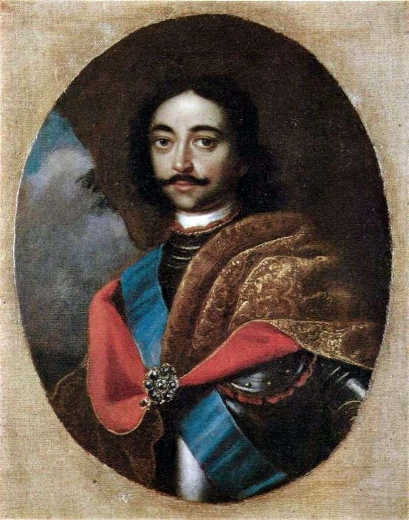 Portret Piotra I   Adolsky Ivan