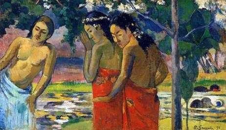 Trzej Tahitańczycy   Paul Gauguin