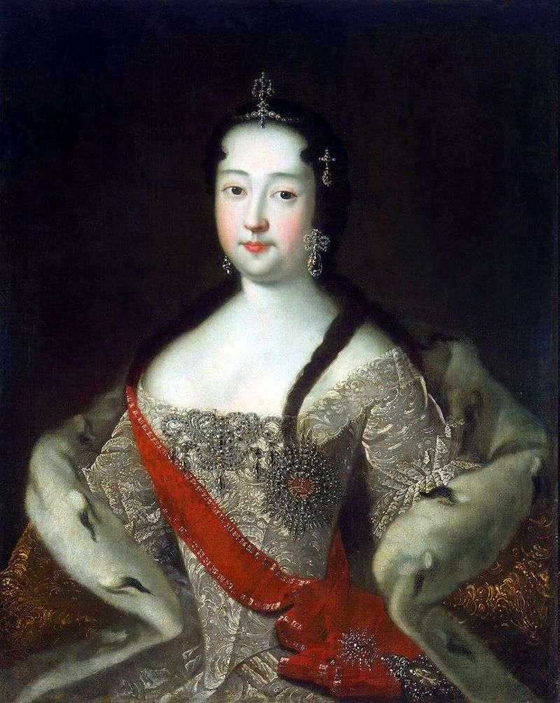 Portret księżnej Anny Pietrowna   Adolsky Ivan Nikolaevich