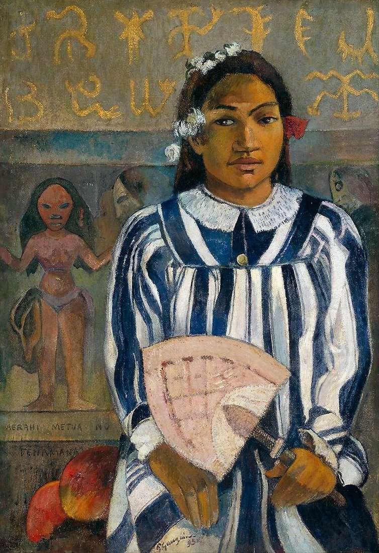 Texhamanie mają wielu przodków (Przodków Techamanów)   Paula Gauguina