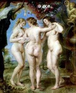 Trzy Gracje   Peter Rubens