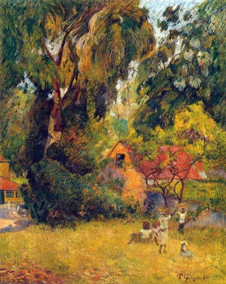 Domek na drzewie   Paul Gauguin