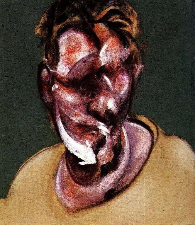 Portret Luciena Freuda   Francis Bacon