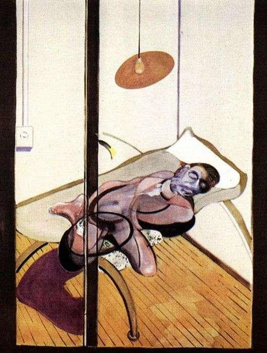 Śpiący człowiek   Francis Bacon