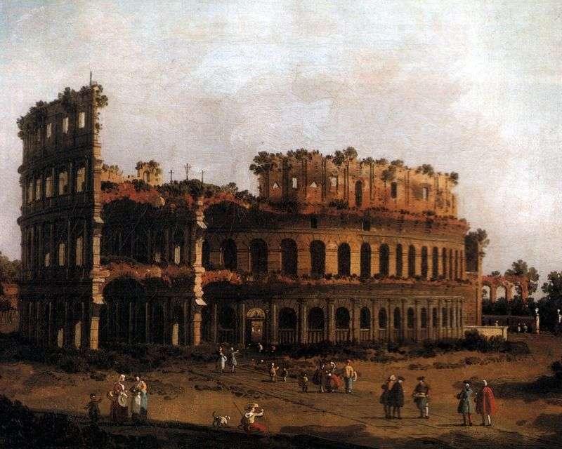 Koloseum   Antonio Canaletto