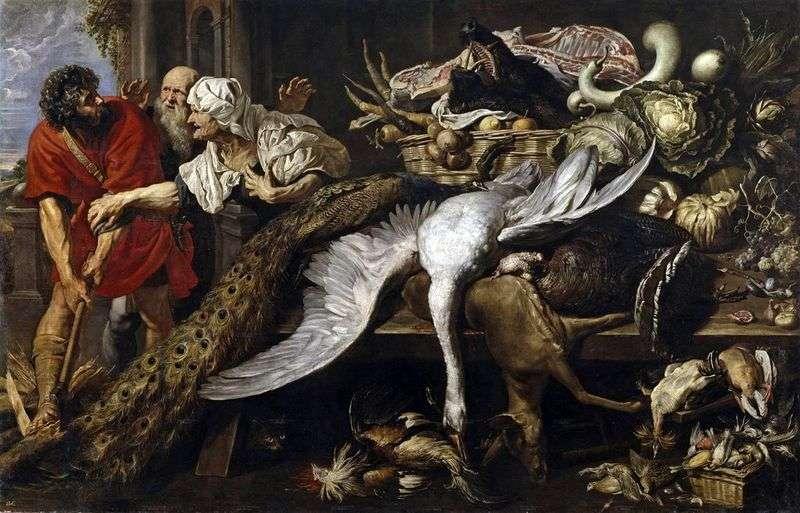 Filopemen i stary niewolnik   Peter Rubens