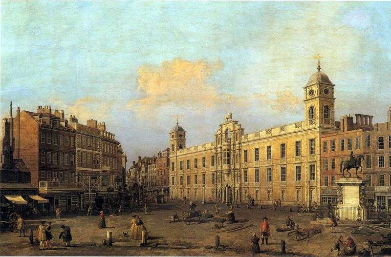 Londyn, Northumberland House   Antonio Canaletto