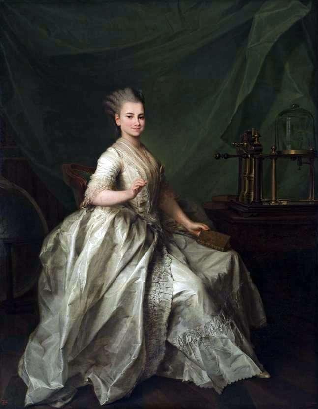 Portret Catherine Ivanovna Molchanova   Dmitry Levitsky