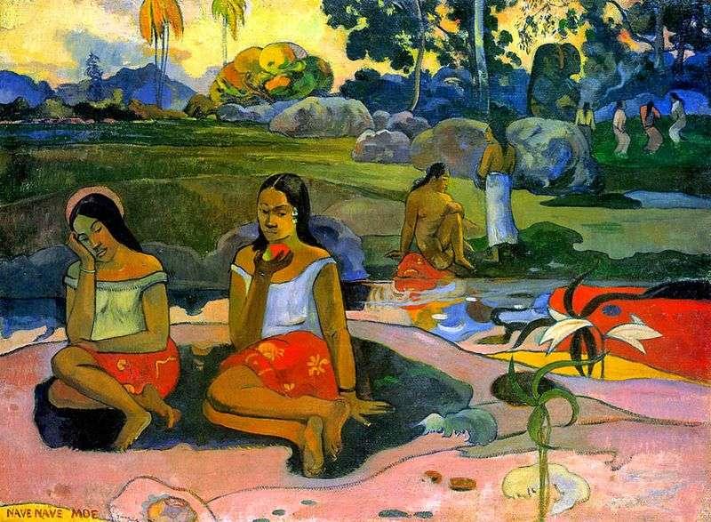 Cudowne źródło (Sweet Dreams)   Paul Gauguin