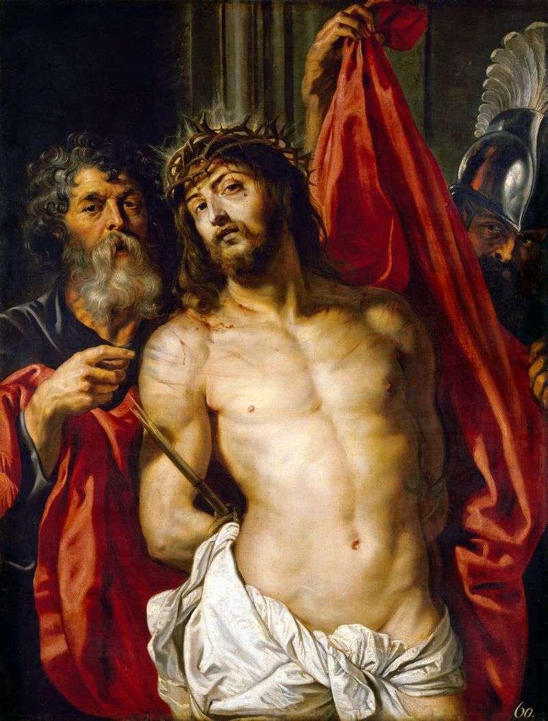 Chrystus w Koronie Cierni   Peter Rubens