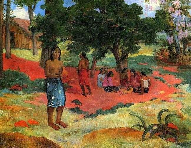 Szept II   Paul Gauguin