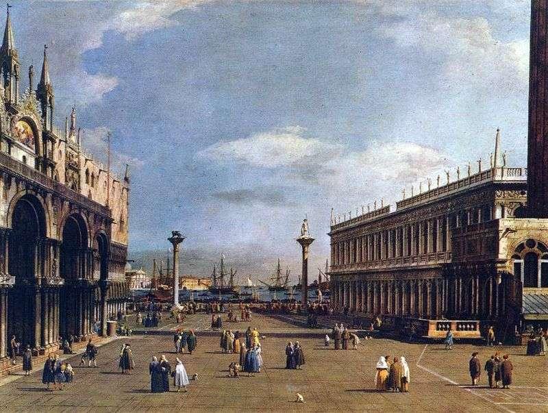 Piazzetta   Antonio Canaletto