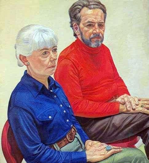 Małżonkowie Richard i Gloria Miller   Philip Perlstein