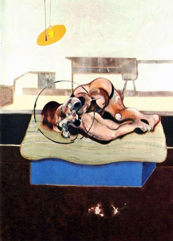 Figury łóżkowe   Francis Bacon