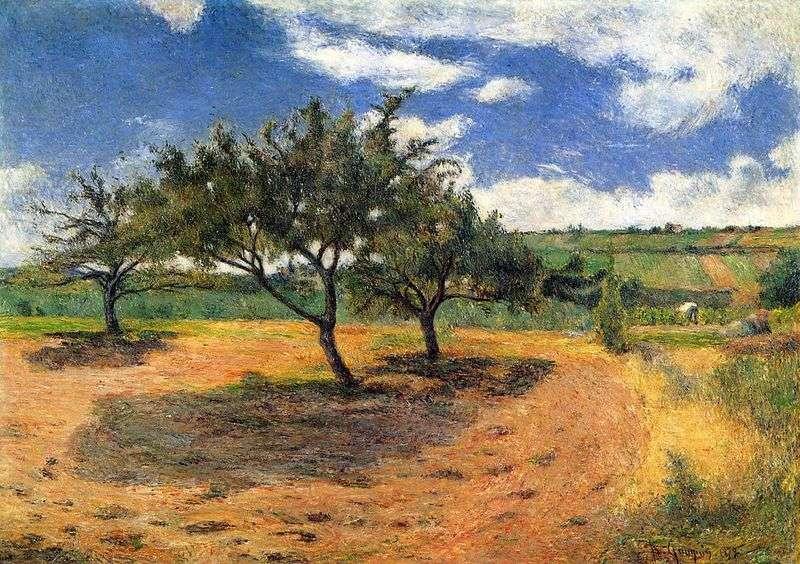 Jabłonie   Paul Gauguin