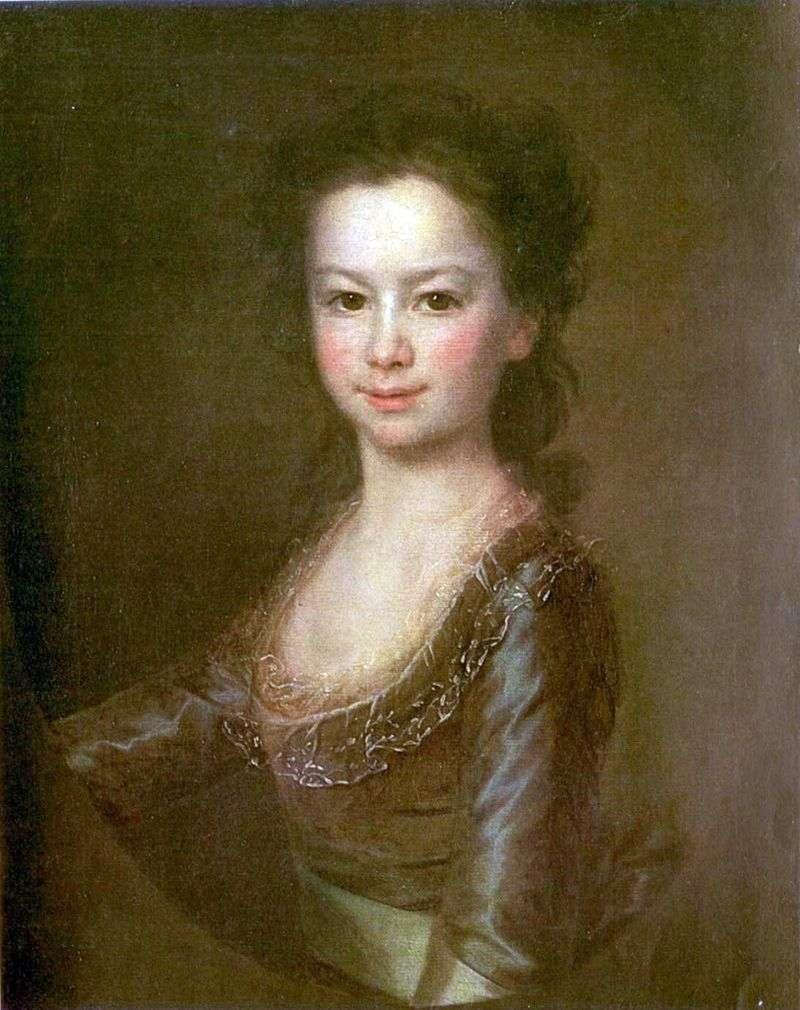 Portret Marii Woroncowej   Dmitrija Lewitskiego