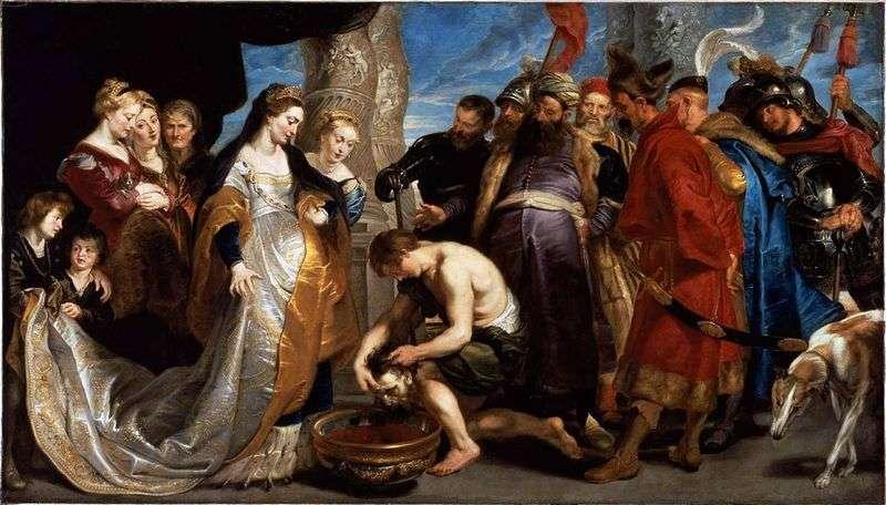 Królowa Tomiris przed Cyrusem   Peter Rubens