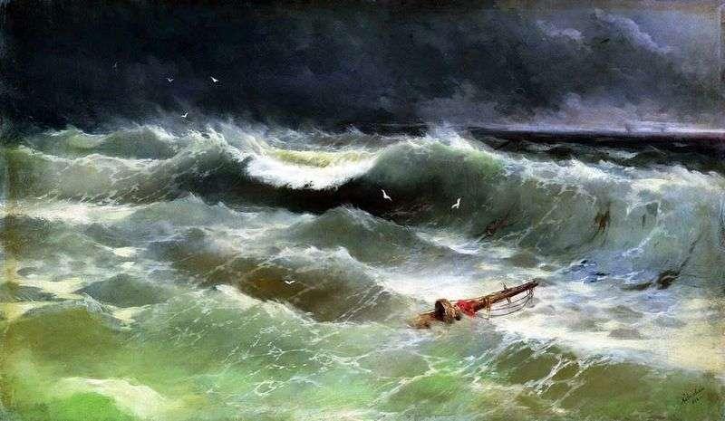 Storm   Ivan Aivazovsky