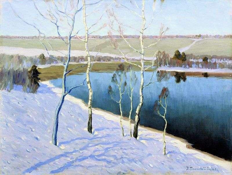 Wczesna wiosna   Vitold Bialynitsky Birulya
