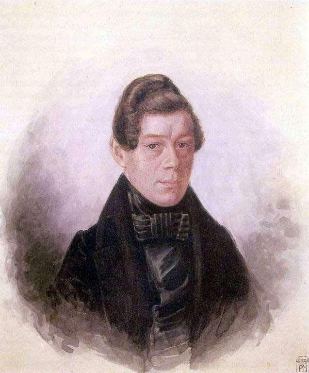 Portret M. M. Rodivanovsky   Pavel Fedotov