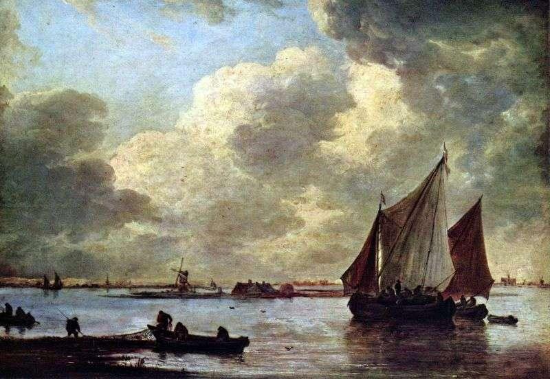 The Sea by Haarlem   Jan van Goyen