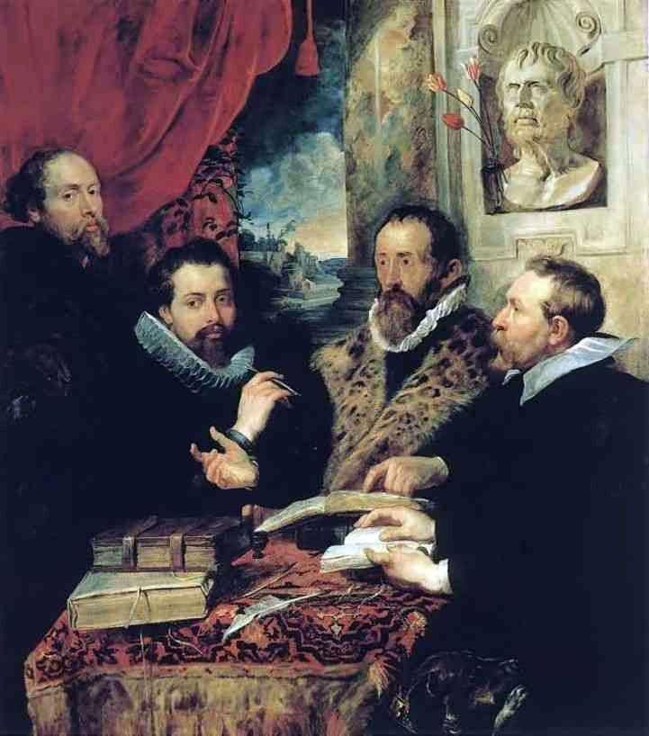 Czterech filozofów   Peter Rubens