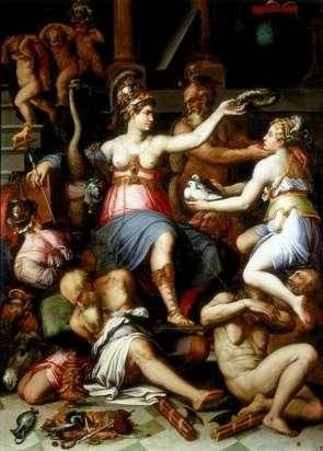 Alegoria sprawiedliwości   Giorgio Vasari