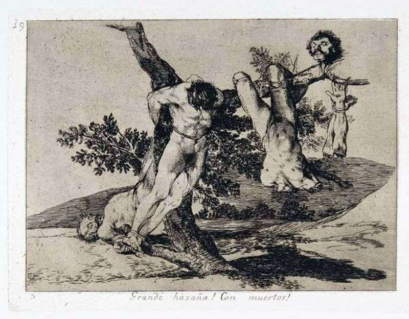 Disasters of War   Francisco de Goya