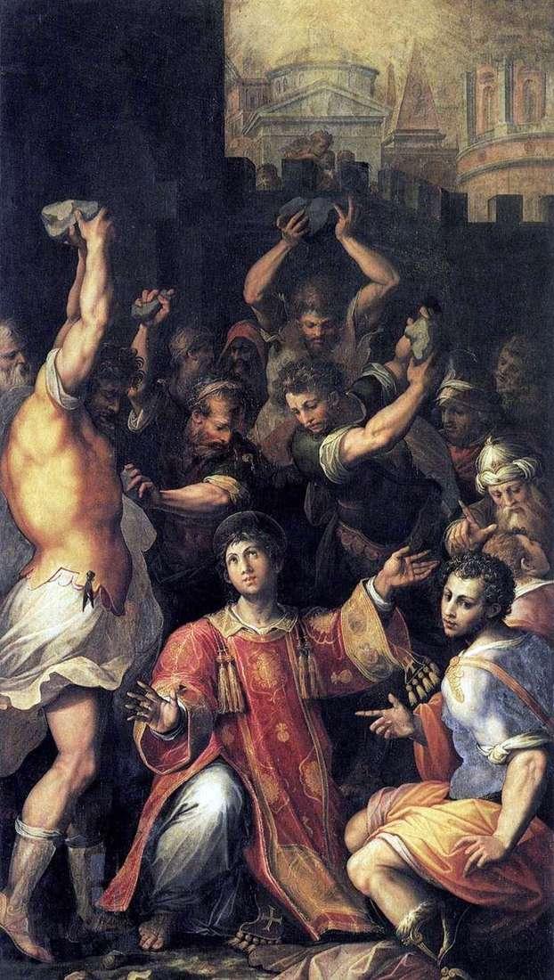 Męczeństwo św. Szczepana   Giorgio Vasari
