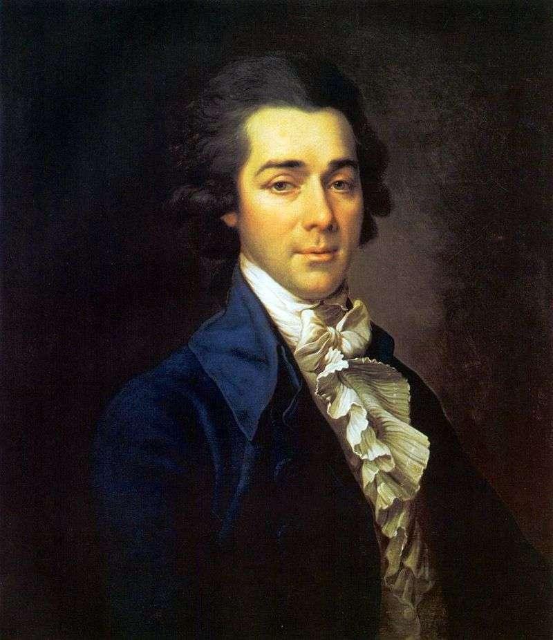 Portret Mikołaja Aleksandrowicza Lwowa   Dmitrija Lewitskiego
