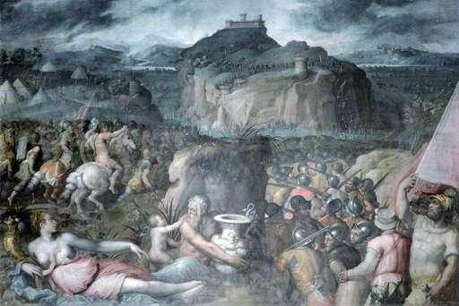 Oblężenie San Leo   Giorgio Vasari