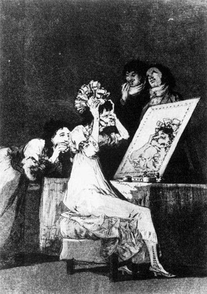 Ryciny   Caprichos (kaprysy)   Francisco de Goya