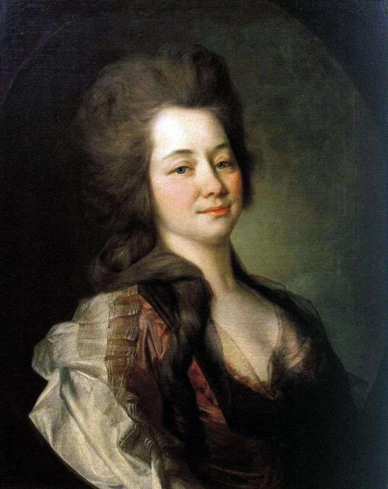 Portret M. A. Lwowa   Dmitrija Lewitskiego